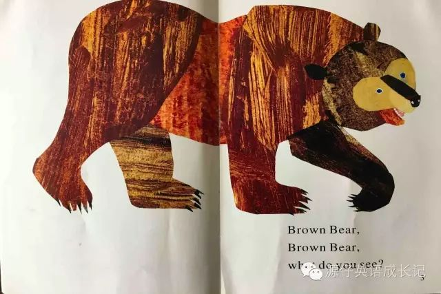 英语启蒙经典绘本— Brown Bear, What Do You See?
