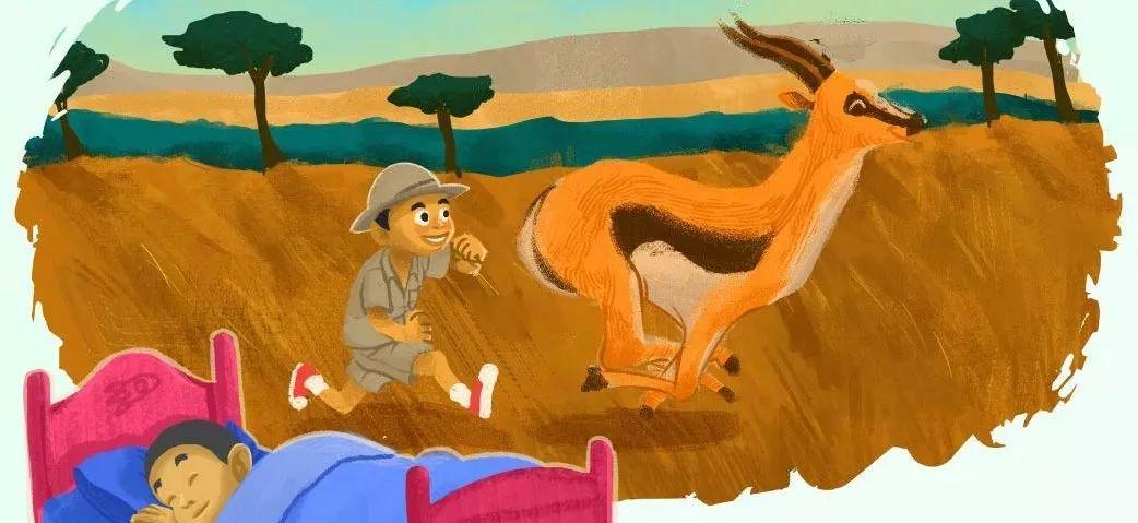 睡前英语故事 | Animals Run 奔跑的动物