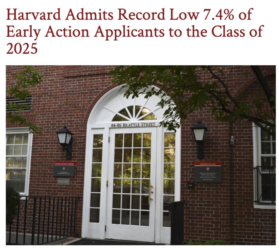 2021美国大学本科早申录取数据复盘-TOP30美国名校申请人数暴涨,录取率平均下降4%!