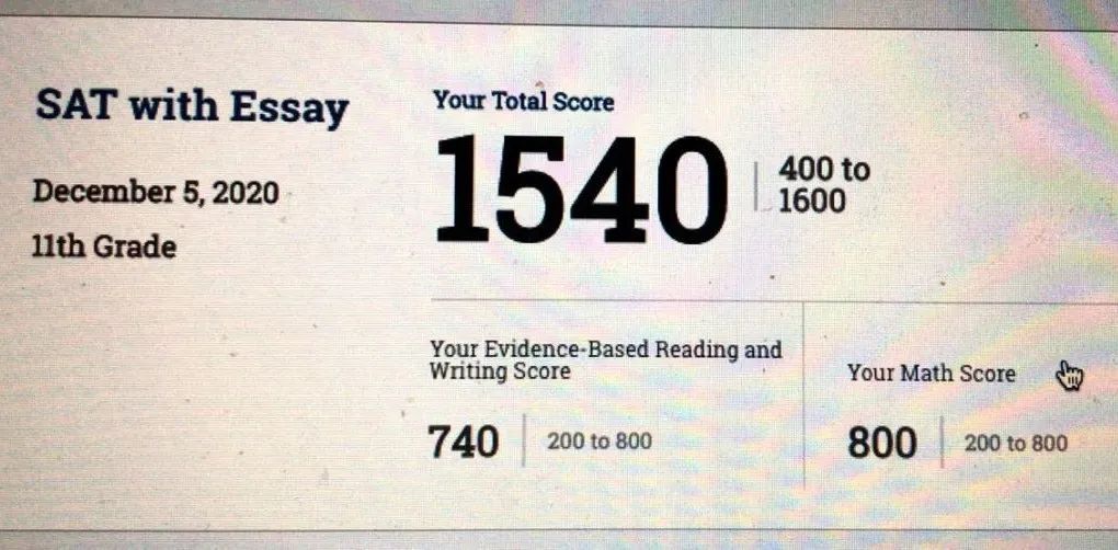 SAT首考1540,数学800分,疫情中我是怎么做到的?-SAT高分备考经验分享