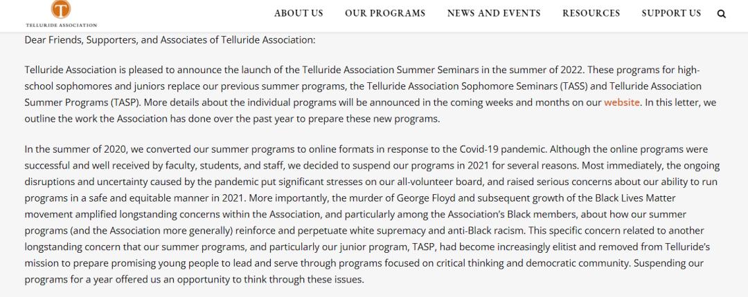 高含金量的文科项目TASS/TASP将永久取消,被新项目TASS-CBS/TASS-AOS取代!